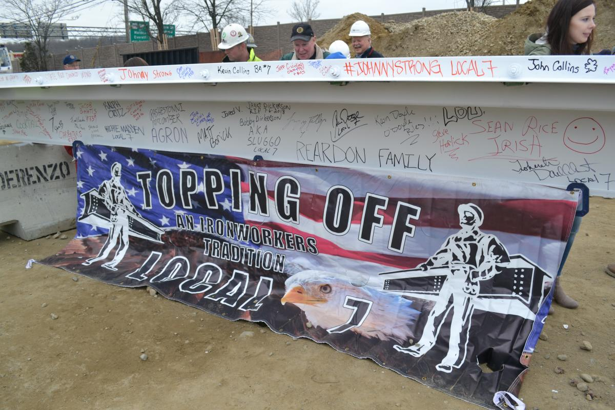 The Topping Off Ceremony